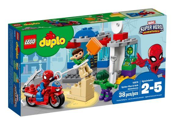 Les aventures de Spider-Man et Hulk LEGO Duplo, 38 pces Image de l'article