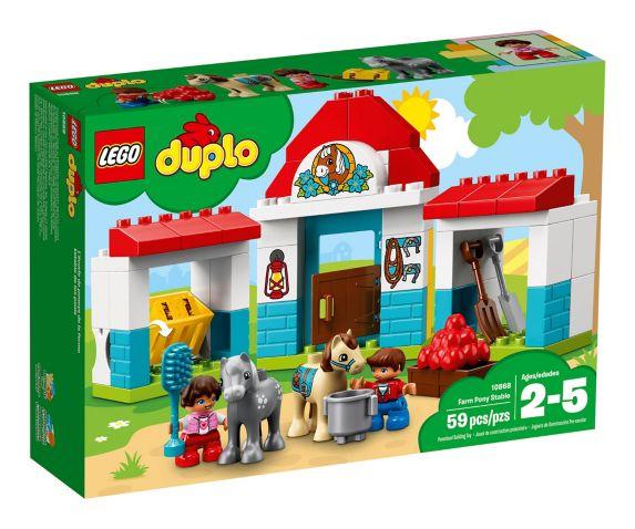 L'écurie de poneys de la ferme LEGO Duplo, 59 pces