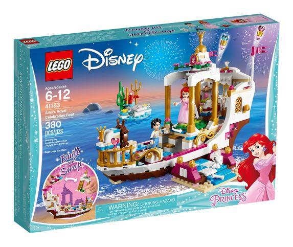 Le bateau de célébration royale d'Ariel LEGO Disney Princess, 380 pces Image de l'article
