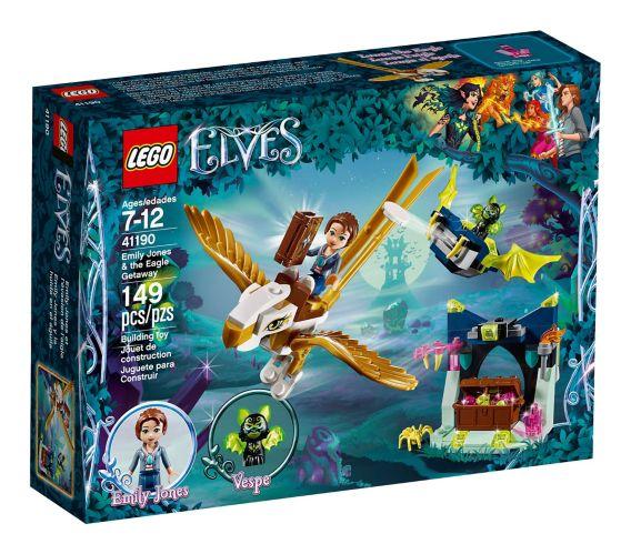 Emily Jones et l'évasion de l'aigle LEGO Elves, 149 pces Image de l'article