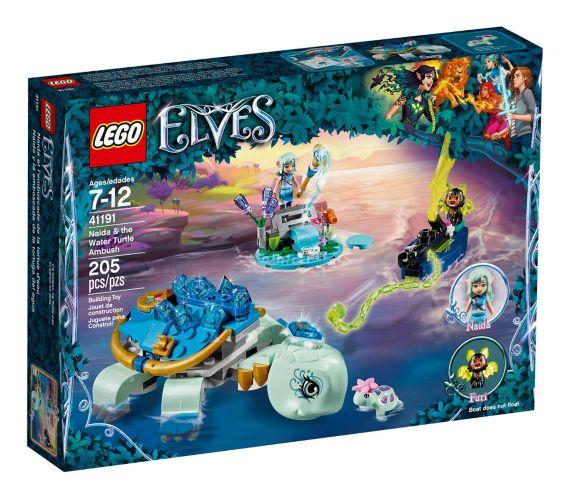 Naida et l'embuscade de la tortue d'eau LEGO Elves, 205 pces Image de l'article