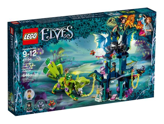 LEGO Elves Noctura's Tower & the Earth Fox Rescue, 646-pc Product image