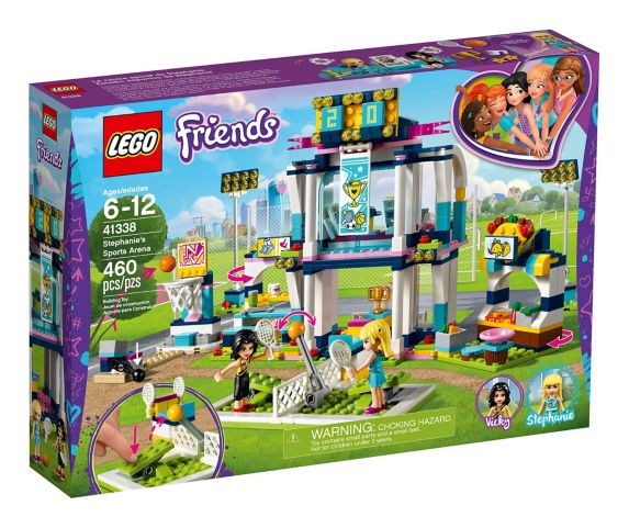 LEGO Friends Stephanie's Sports Arena, 460-pc Product image