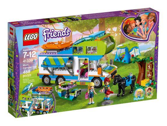 L'autocaravane de Mia LEGO Friends, 488 pces Image de l'article