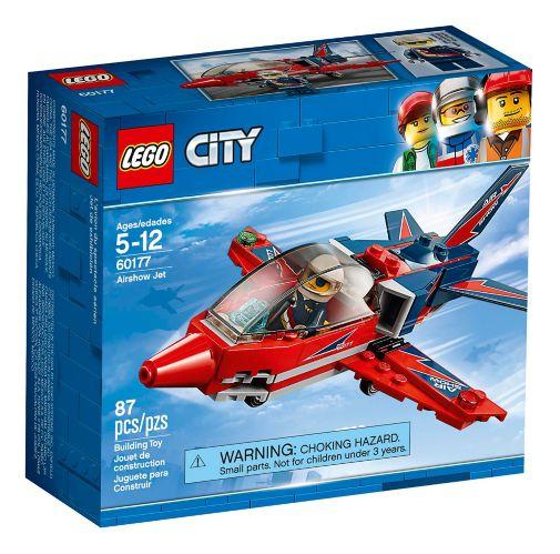 LEGO City Airshow Jet, 87-pc Product image