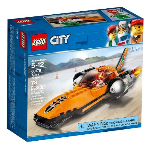 LEGO City Speed Record Car, 78-pc Product image