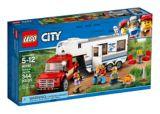 La camionnette et la caravane LEGO City, 344 pces | Legonull