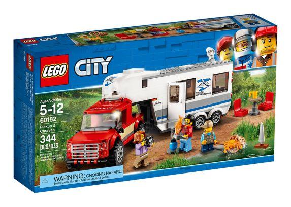 La camionnette et la caravane LEGO City, 344 pces Image de l'article