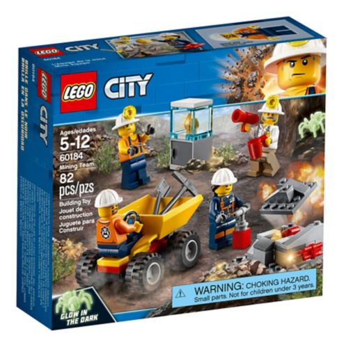 LEGO City Mining Team, 82-pc