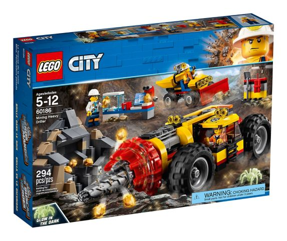 LEGO City Mining Heavy Driller, 294-pc Product image