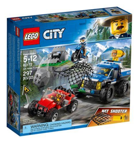 LEGO City Dirt Road Pursuit, 297-pc