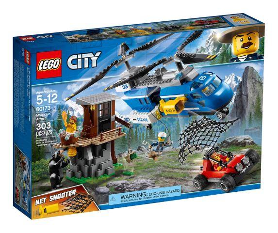 LEGO City Mountain Arrest, 303-pc