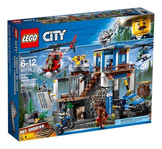 LEGO City Mountain Police Headquarters, 663-pc Product image