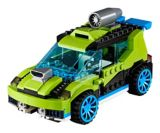 La voiture-fusée de rallye LEGO Creator, 241 pces | Legonull