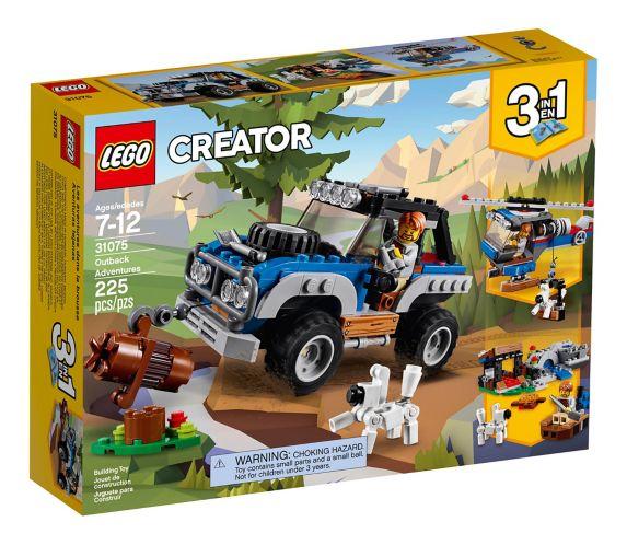Les aventures dans la brousse LEGO Creator, 225 pces Image de l'article
