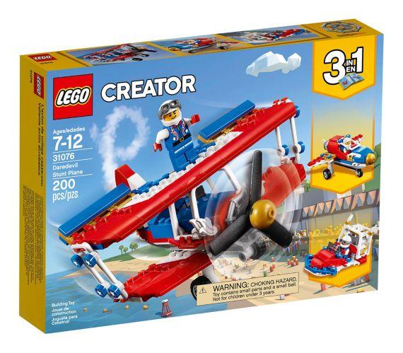 LEGO Creator Daredevil Stunt Plane, 200-pc