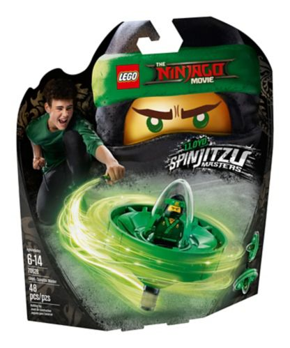 Lloyd, le Maître du Spinjitzu LEGO Ninjago, 48 pces Image de l'article