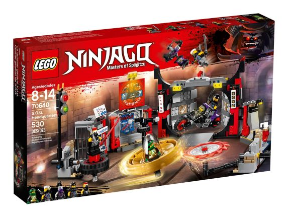 LEGO Ninjago S.O.G. Headquarters, 530-pc