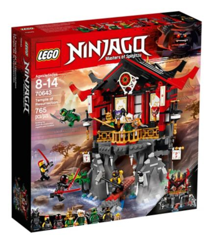 Le Temple de la résurrection LEGO Ninjago, 765 pces Image de l'article