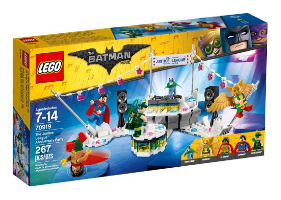 LEGO Batman The Justice League Anniversary Party, 267-pc Product image