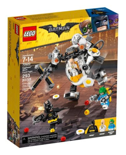 La bataille de bouffe de Crâne d'Œuf LEGO Batman, 293 pces