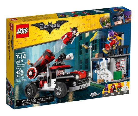 L'attaque au canon d'Harley Quinn LEGO Batman, 425 pces Image de l'article