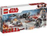 La défense de Crait LEGO Star Wars, 746 pces | Legonull