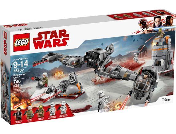 La défense de Crait LEGO Star Wars, 746 pces Image de l'article
