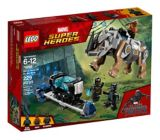 LEGO Marvel Super Heroes Rhino Face-Off by the Mine, 229-pc | Legonull
