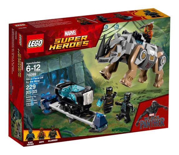 LEGO Marvel Super Heroes Rhino Face-Off by the Mine, 229-pc Product image