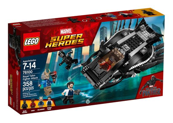 LEGO Marvel Super Heroes Royal Talon Fighter Attack, 358-pc Product image
