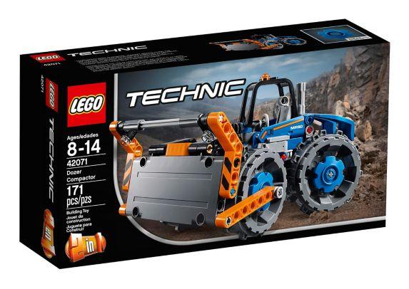 Le bulldozer compacteur LEGO Technic, 171 pces
