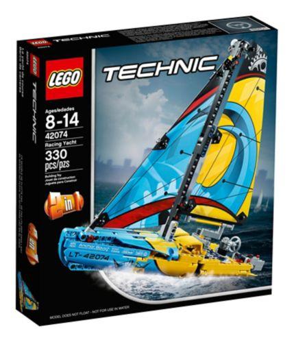 Le yacht de course LEGO Technic, 330 pces