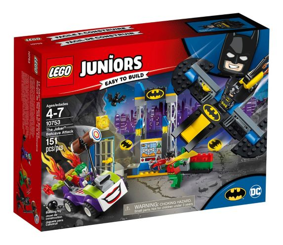 LEGO Juniors The Joker™ Batcave Attack, 151-pc Product image