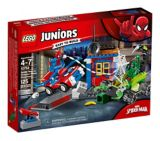 LEGO Juniors Spider-Man vs. Scorpion Street Showdown, 125-pc | Lego Spidermannull