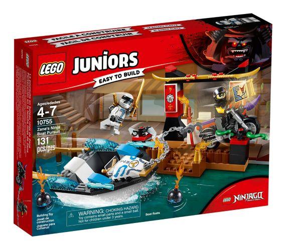LEGO Juniors Zane's Ninja Boat Pursuit, 131-pc Product image