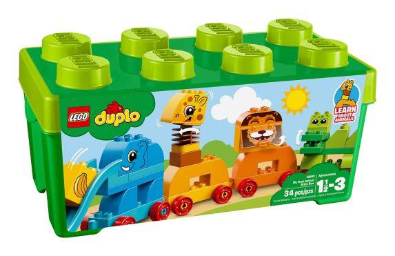 LEGO Duplo My First Animal Brick Box, 34-pc