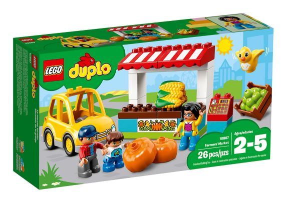LEGO Duplo Farmers' Market, 26-pc Product image