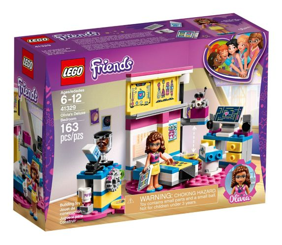 LEGO Friends Olivia's Deluxe Bedroom, 163-pc Product image