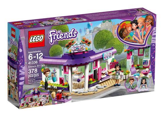 Le café des arts d'Emma LEGO Friends, 378 pces