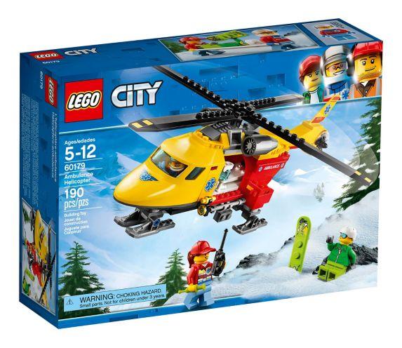 L'hélicoptère-ambulance LEGO City, 190 pces Image de l'article