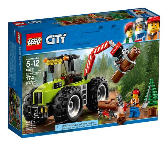 LEGO City Forest Tractor, 174-pc Product image
