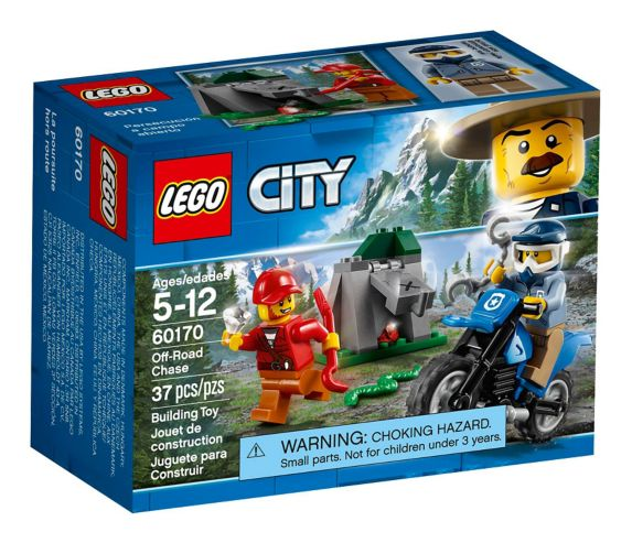 LEGO City Off-Road Chase, 37-pc