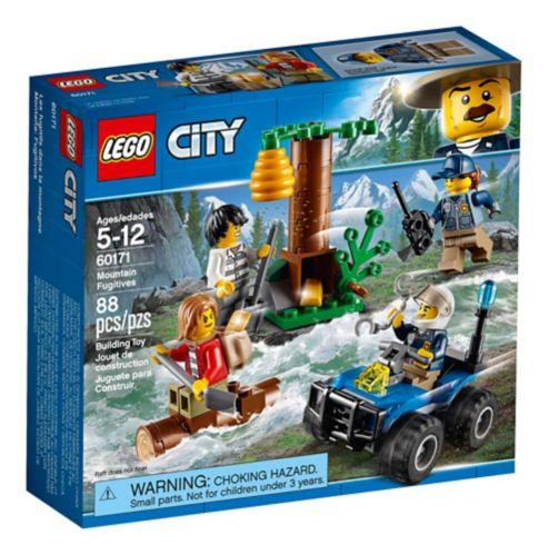 Les fugitifs dans la montagne LEGO City, 88 pces