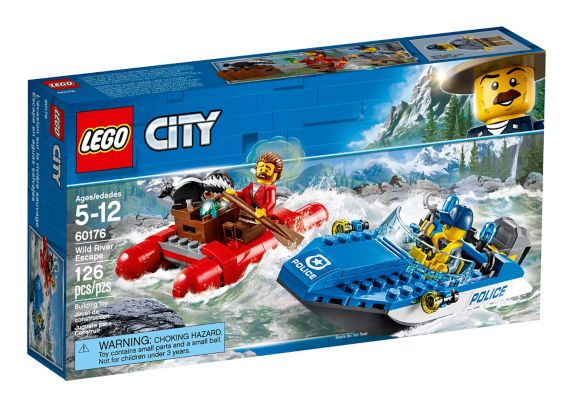 LEGO City Wild River Escape, 126-pc Product image