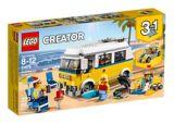 L'autocaravane de plage du surfeur LEGO Creator, 379 pces | Legonull