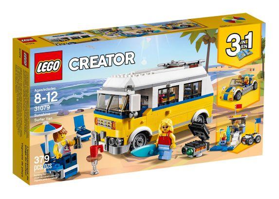 L'autocaravane de plage du surfeur LEGO Creator, 379 pces Image de l'article