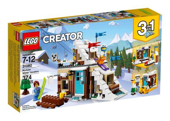 Les vacances d'hiver modulaires LEGO Creator, 374 pces Image de l'article