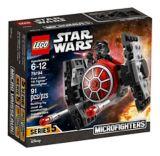 Microvaisseau Chasseur TIE du PremierOrdre LEGO Star Wars, 91 pces | Legonull