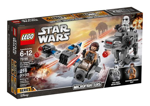 LEGO Star Wars Ski Speeder vs. First Order Walker Microfighters, 216-pc Product image